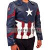 Captain America Civil War Jacket Left