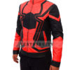 Avengers Infinity War Spiderman Armored Black Costume Jacket Right