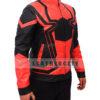 Avengers Infinity War Spiderman Armored Black Costume Jacket Left