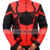 Avengers Infinity War Spiderman Armored Black Costume Jacket