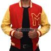 Michael Jackson Thriller Varsity Jacket Front Open