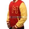 Michael Jackson Thriller Varsity Jacket Right