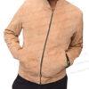 Spectre James Bond Daniel Craig Morocco Brown Suede Leather Jacket