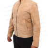 Spectre James Bond Daniel Craig Morocco Brown Suede Leather Jacket Right