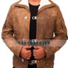 Wolfenstein The New Order Game William B.J Blazkowicz Leather Jacket Front 2