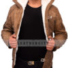 Wolfenstein The New Order Game William B.J Blazkowicz Leather Jacket Front 5