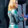 Captain Marvel Brie Larson Jacket Back