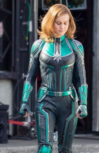 Captain Marvel Brie Larson Jacket Front