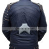 Bucky Winter Soldier Jacket Vest Back