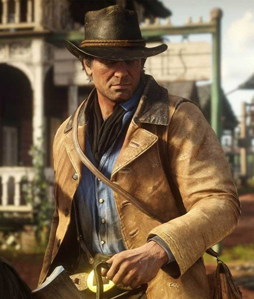 Arthur Morgan Red Dead Redemption II Leather Jacket