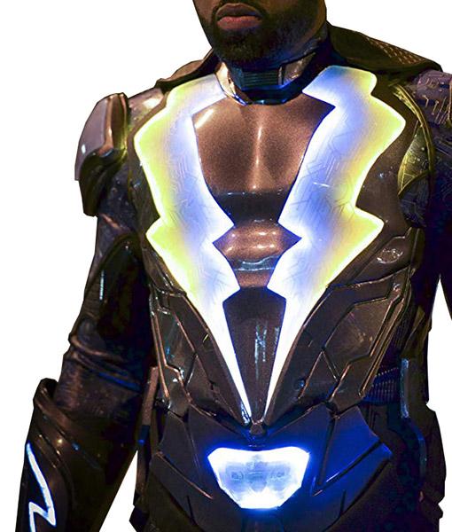 Lighting Jacket: Black Lightning Cress Williams Costume Jacket