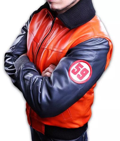 Dragon Ball Z Goku 59 Orange Jacket (2)
