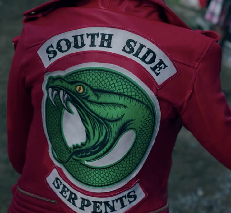 Riverdale Wallpaper Serpents: Cheryl Blossom (Madelaine Petsch) Riverdale Serpent Red Jacket