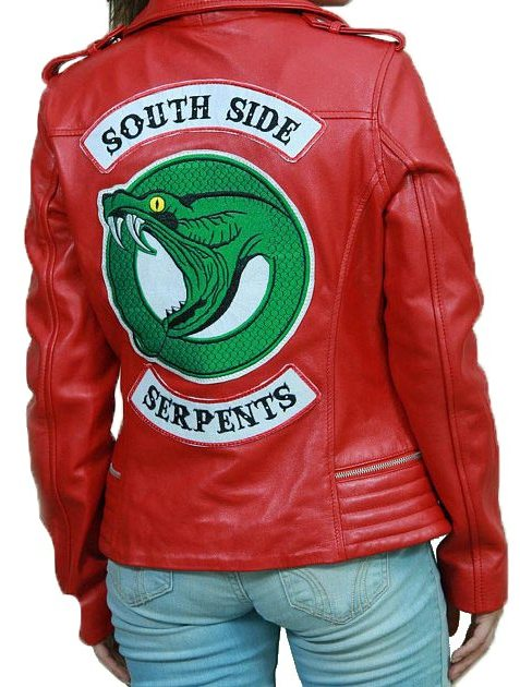 Riverdale Southside Serpents Red Jacket