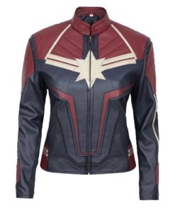 Captain Marvel Costume Jacket