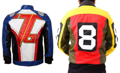 Soldier 76 Leather Jacket + 8 Ball Jacket