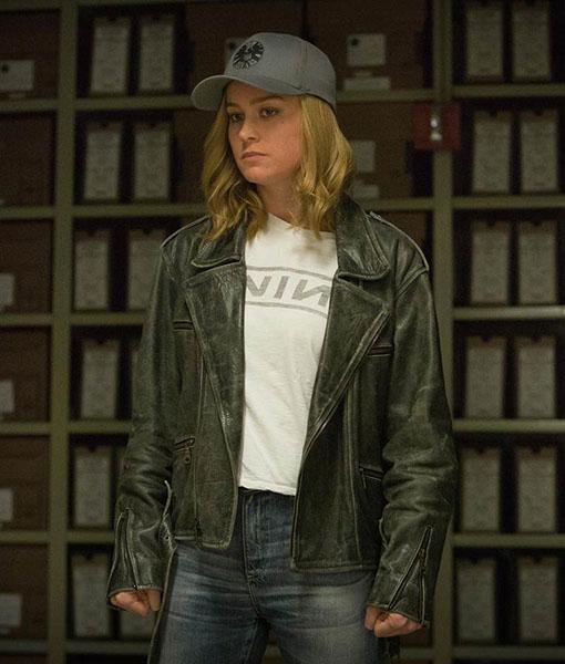 Carol Danvers Black Jacket