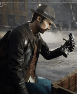 The Sinking City's Charles Jacket