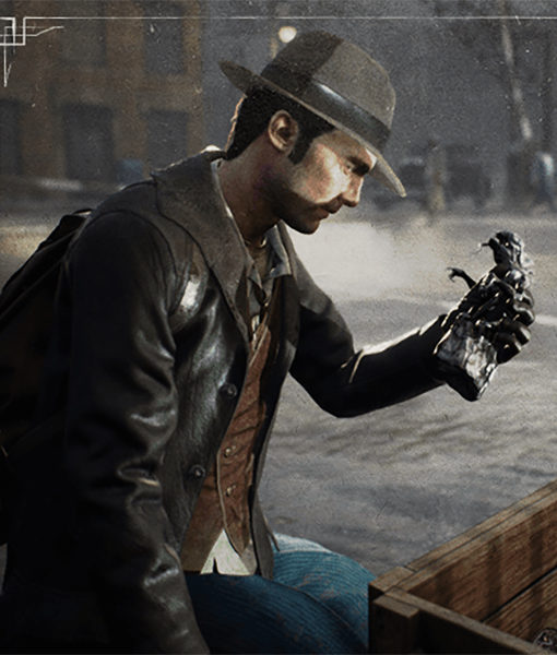 The Sinking City's Charles W. Reed Jacket