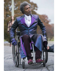 Glass Elijah Price Purple Coat