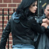 Netflix's Jessica Jones Leather Jacket – Krysten Ritter Biker Jacket