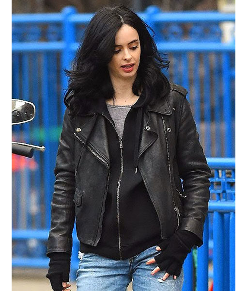 Netflix AKA Jessica Jones Leather Jacket (2)