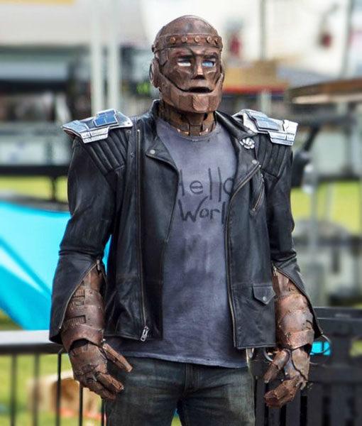 Robotman Jacket Doom Patrol Cliff Steele Leather Jacket