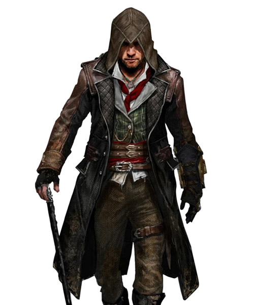 Assassins Creed Unity Arno Blue Cotton Jacket