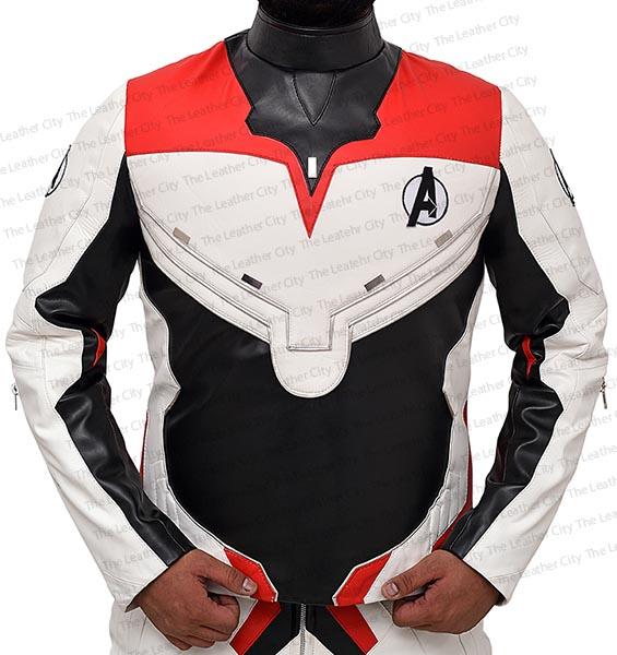 d3e01ded8 Avengers Endgame Quantum Realm Battle Leather Jacket - TLC
