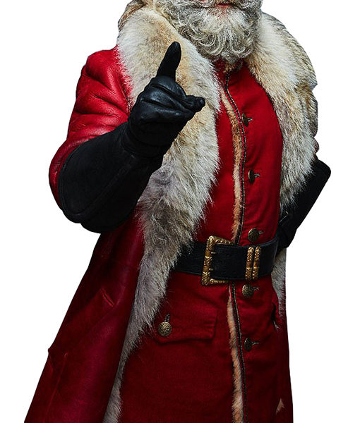 Kurt Russell The Christmas Chronicles Santa Claus Coat