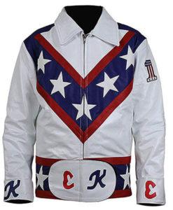 Evel Knievel Daredevil Leather Jacket