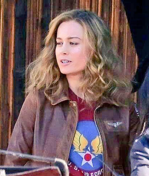 Captain Marvel Carol Danvers Flight Bomber Jacket 1