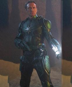 Captain Marvel Jude Law Leather Jacket