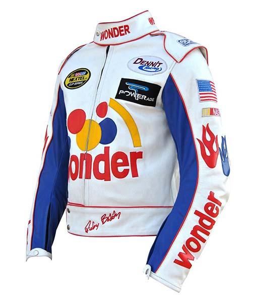 Ricky Bobby Wonder Leather Jacket