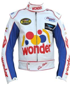 Ricky Bobby Wonder Leather Jacket