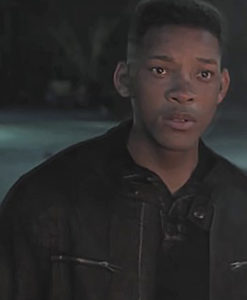 Gemini Man: Will smith Henry Brogen / Junior Leather Jacket