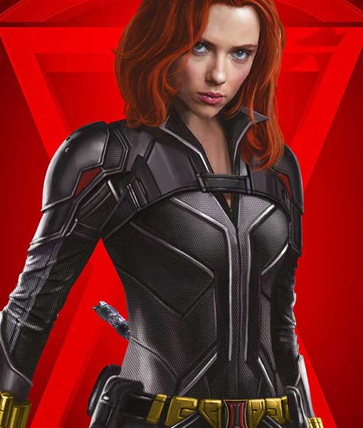 Black Widow's Natasha Romanoff (Scarlett Johansson) Leather Jacket