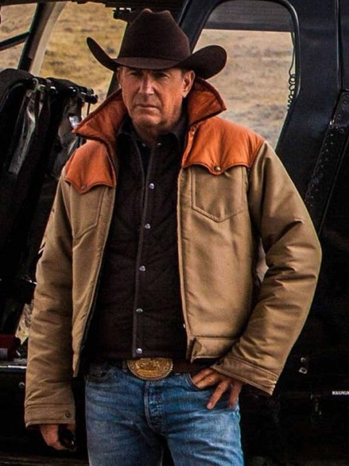 Kevin Costner Yellowstone Series Jacket (3)