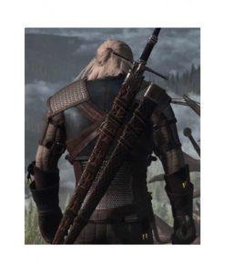 The Witcher Geralt of Rivia Jacket back pose