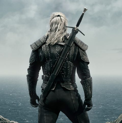 the witcher geralt jacket back