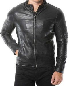 Baxter Red Cafe Racer Jacket