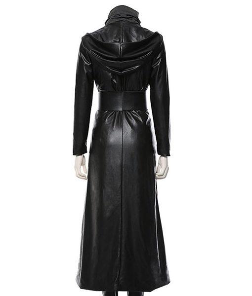 Regina King Angela Abar Watchmen Black Hooded Coat