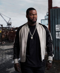 Power 50 Cent Black and White Jacket