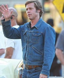 Once Upon a Time In Hollywood Brad Pitt Jacket