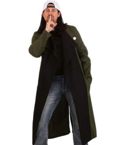 Silent Bob Trench Coat front