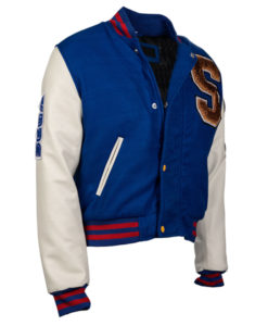 Sonic the Hedgehog Varsity Jacket front