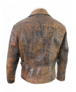Snake plissken jacket back