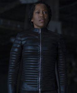 Angela Abar Black Jacket