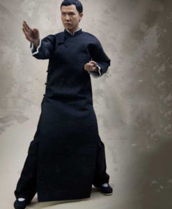 IP Man Tunic in Black Color