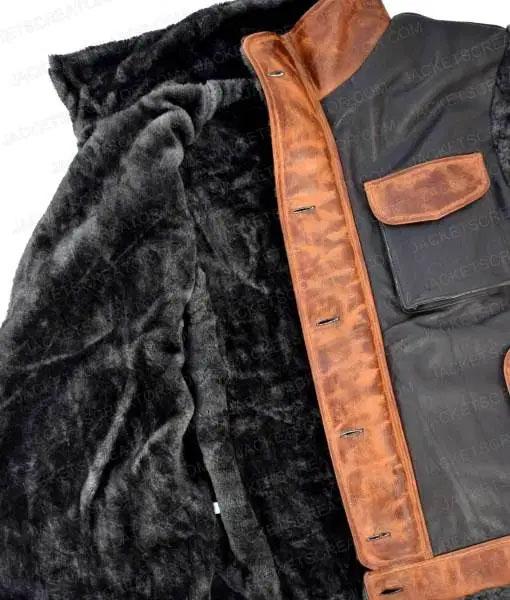 Jumanji Rock Leather Vest inner